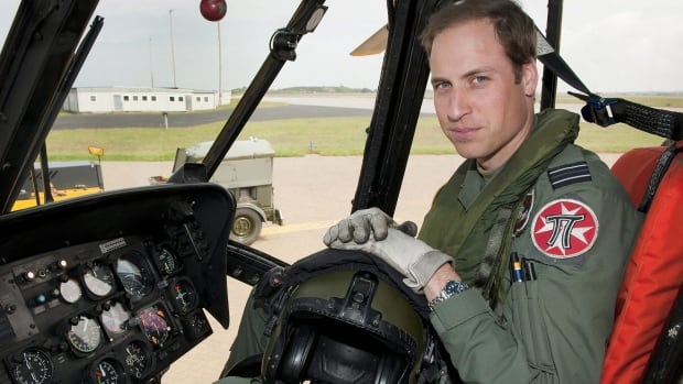 Prince William, pictured in a helicopter in 2012, served as a Royal Air Force search-and-rescue pilot. For his 32nd birthday Saturday, William received his own helicopter from the Queen.