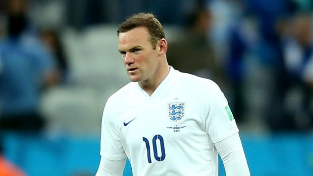 "Wayne Rooney, in a Facebook post on his official page, said he was ""gutted"" after the Three Lions were eliminated when Costa Rica upset Italy 1-0."