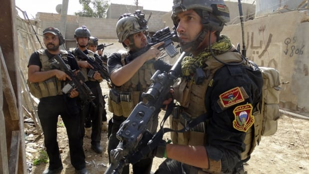It is not clear whether Obama's deployment of up to 300 military advisers to retrain Iraqi troops (above) can make a difference or turn things around quickly enough to prevent the militants from digging in.