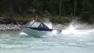 Jetboat - upper Kootenay River
