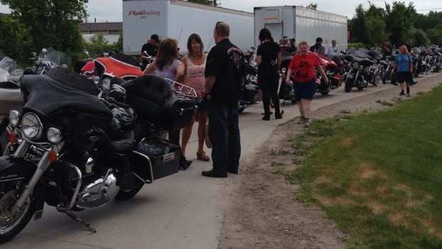 About 1,000 motorcycles hit the roads of Windsor-Essex for the annual Bob Probert Ride on Sunday.