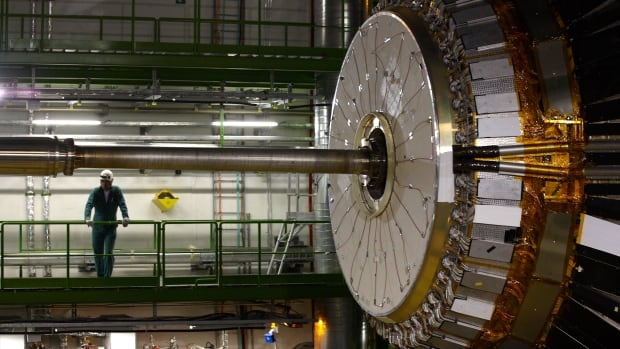 A team of Canadian scientists is part of the CERN Large Hadron Collider project, the world's largest science experiment, which is probing the mysteries of the early universe.