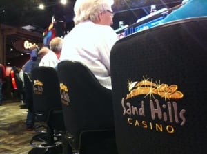 Sand Hills Casino chairs