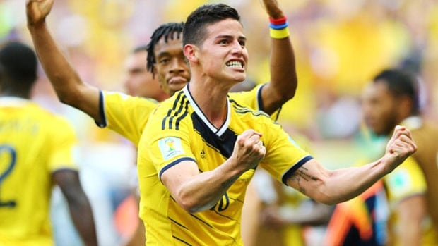 Colombian James Rodriguez has two goals in two games at the 2014 World Cup, and the world is talking about this young player.