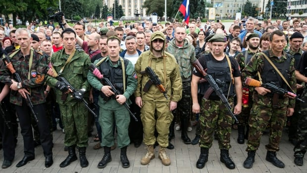 Pro-Russian rebels in the violent Donetsk region agreed to respect a ceasefire proposed by Ukraine's new president on Monday.