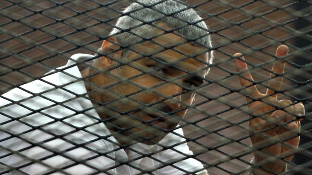 Canadian-Egyptian journalist Mohamed Fahmy was sentenced to seven years in prison on terrorism-related charges.