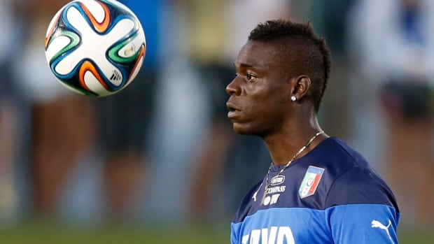 Mario Balotelli and Italy square off against Uruguay in the can't-miss match on Tuesday, 12 p.m. ET on CBC TV and cbc.ca/fifaworldcup.