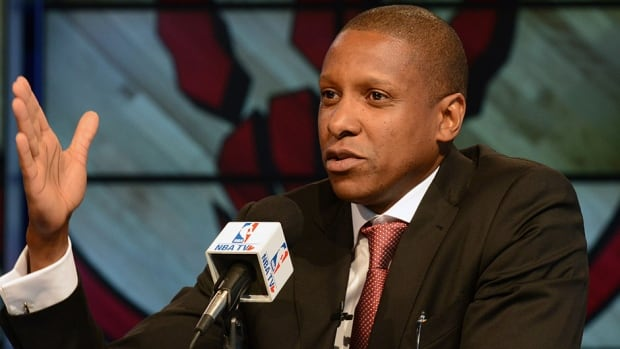 Toronto Raptors general manager has whittled his list of possible draft picks down to five.