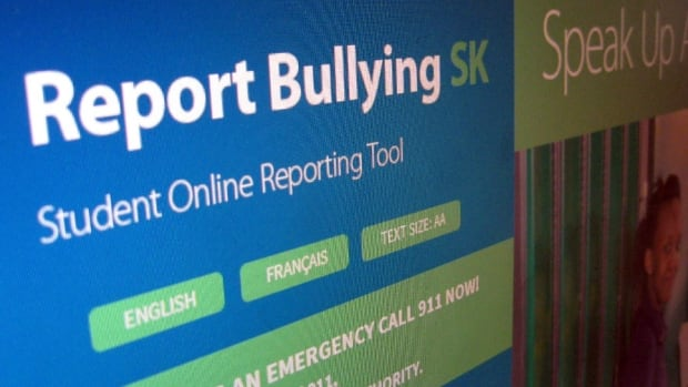 The Saskatchewan government has launched a website that lets young people report bullying anonymously.