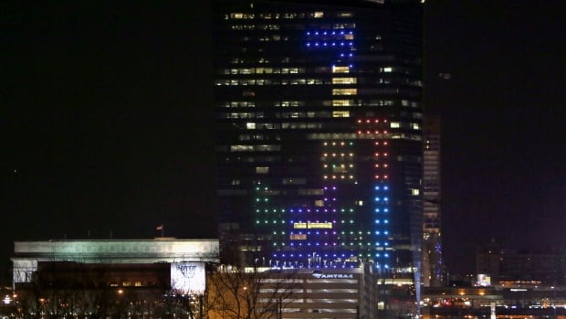 Drexel University Prof. Frank Lee used hundreds of LEDs to create a playable game of Tetris on the side of Philadephia's Cira Centre on April 5. On Monday, he found out his effort was enough to capture the Guiness World Record for largest architectural video game display.