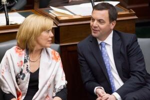 Christine Elliott and Tim Hudak 20130219