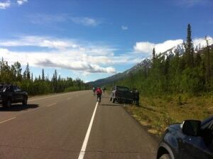 Kluane-Chilkat International bike relay