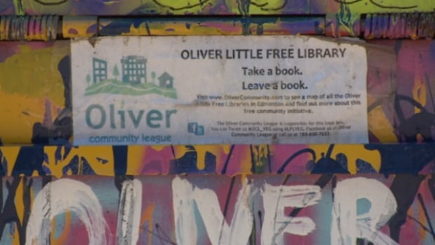 "The Oliver Community League runs 10 free ""Little Free Libraries"" throughout the neighbourhood. A spokesperson for the league said organizers didn't even know about the rogue book box until they received word from the city that it had been taken away."