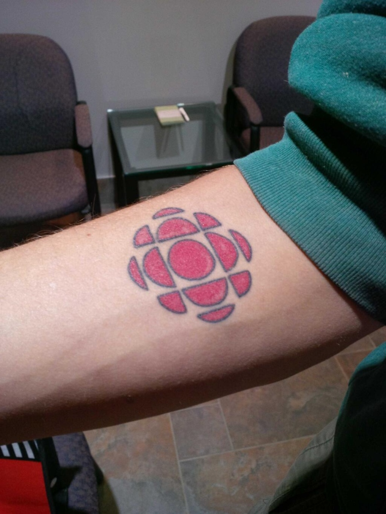Clayton Roberts Shows Off Cbc Ink Cbc News