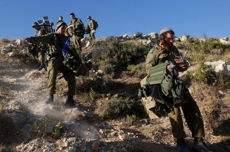 Three israeli males i