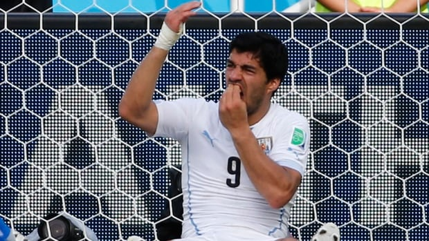 Luis Suarez's history of biting made it a good bet for gamblers looking to make some cash during the World Cup.