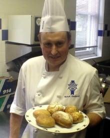 Le Cordon Bleu Ottawa head pastry chef Hervé Chabert