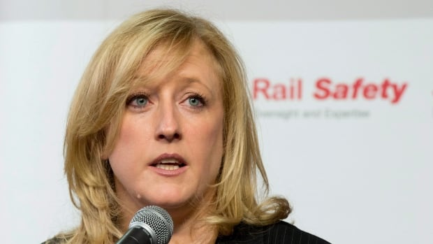 Transport Minister Lisa Raitt announced a statutory review of Canada's transportation legislation will begin in 2014, a year ahead of schedule. In April, she announced new measures to increase rail safety.