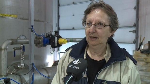 Burgeo Mayor Barbara Barter