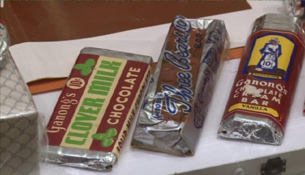 Old Ganong candy bars