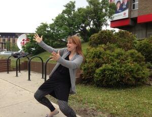 Tiffany Staropoli dancing