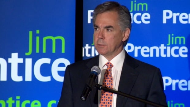 PC leadership candidate Jim Prentice spoke in front of 800 people at a breakfast speech in Edmonton Thursday.