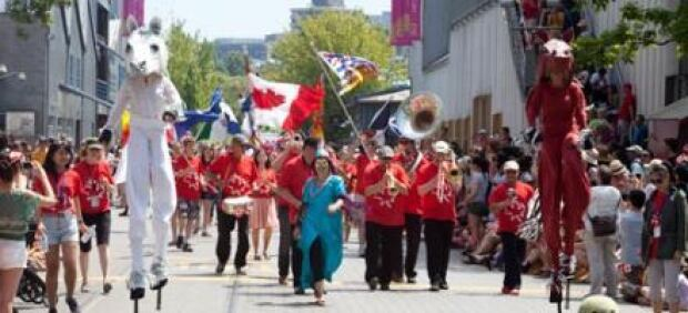 Canada Day at Granville Island