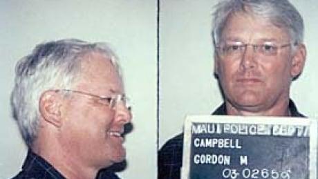 Gordon Campbell's mug shots from Hawaii