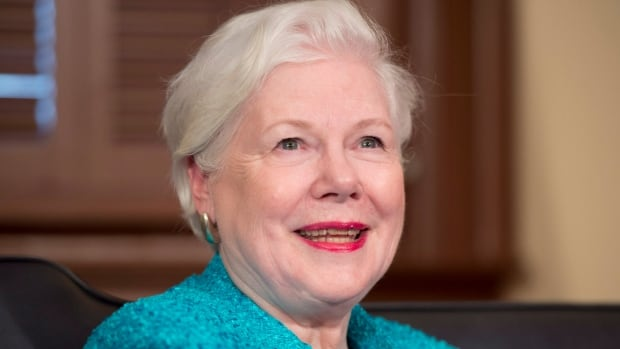Elizabeth Dowdeswell has been named the new lieutenant-governor of Ontario, replacing David Onley.