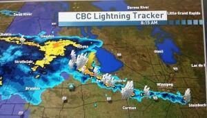 Southwest Manitoba Rain