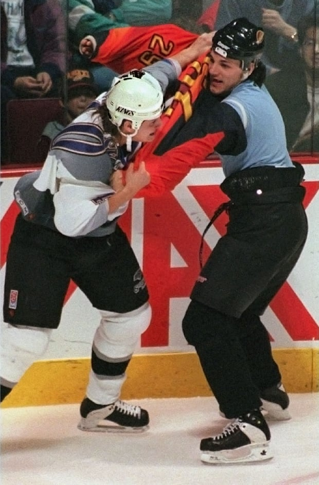 Gino Odjick fight