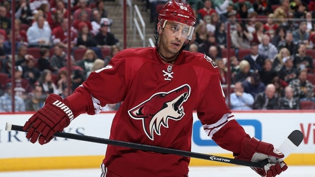 Phoenix Coyotes forward Mike Ribeiro had three years left on his contract.