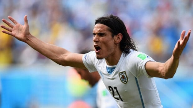 Can Edinson Cavani and Uruguay overcome the loss of Luis Suarez against Colombia?