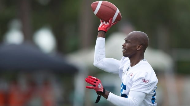 Former NFL star Chad Johnson is making his regular-season CFL debut against the Calgary Stampeders on Friday.