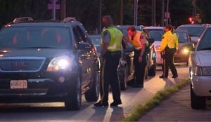 RCMP impaired driving roadblock in Coquitlam, June 27, 2014