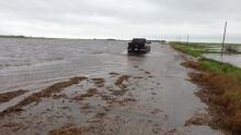 Highway 256 flooding
