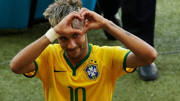Brazil's Neymar could miss the quarter-final at the FIFA World Cup with a thigh injury.