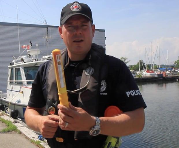 Hamilton police marine unit