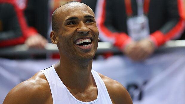 Damian Warner won the decathlon bronze medal at last year's world championships.