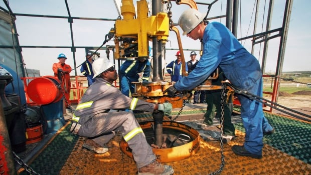 According to the StatsCan Labour Force Survey, 43,000 oilpatch jobs have been lost since December 2014.