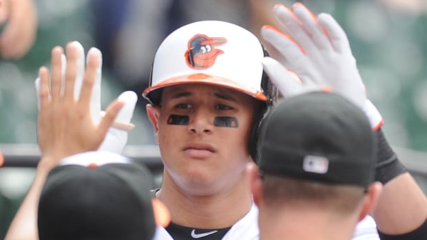 Orioles third baseman Manny Machado will serve a five-game suspension for intentionally throwing a bat on the field during an at-bat in a June 8 game against Oakland. He was originally disciplined on June 10 but appealed the suspension.