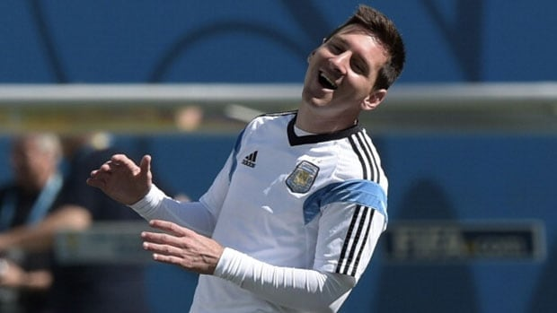 Argentina's brilliant striker Lionel Messi continues to find new ways to confound opponents.