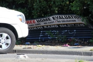 Surrey bus stop accident - June 30, 2014