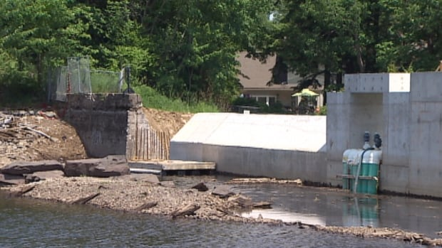 The water has been mostly drained from Paper Mill Lake since 2012 so a local dam, which is privately owned by Annapolis Group Inc., could be replaced.