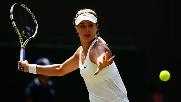 Eugenie Bouchard became the first Canadian in the Open era of tennis to reach the semifinals of a Wimbledon singles tournament on Wednesday. Milos Raonic also advanced to the semifinals a few hours after Bouchard.