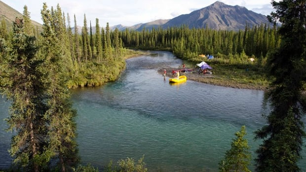 A campsite on the Hart River in the Peel watershed. The area is still viewed as a pristine wilderness, even though mining companies have spent about $40 million looking for paydirt in the region and the Yukon government has said it will protect mineral claims in the area.