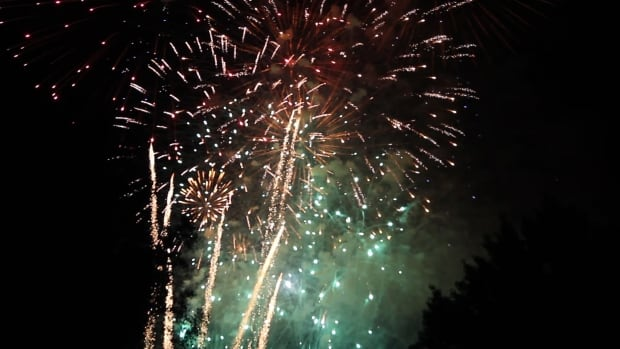 Regina fireworks July1, 2014