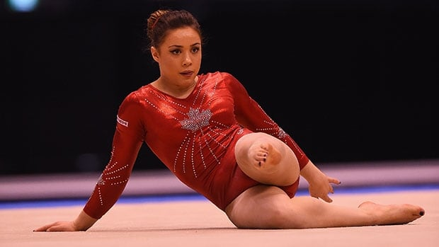 Canada's Victoria Moors has a floor-routine move named after her.