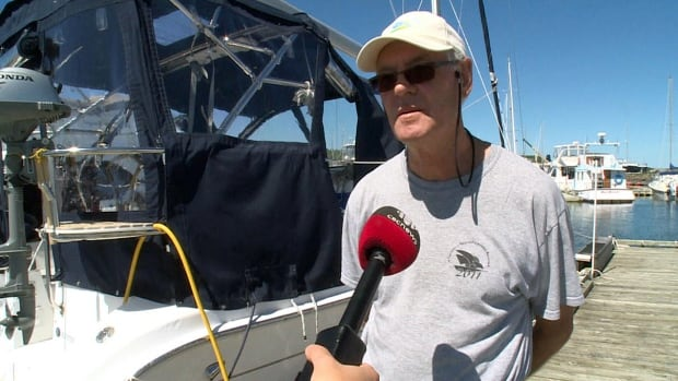 Mac Moss is chair of the Lewisporte Yacht Club's annual charity regatta.