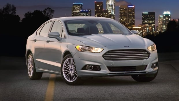 The Ford Fusion is one of the hybrid models that is helping Ford rebuild sales in Canada.